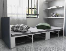 午休床四折床折叠床公寓床幼儿园  床办公室隐藏床