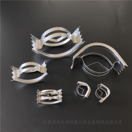 金属304IMTP矩鞍环填料气体洗涤塔鞍形环填料