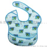 新婴幼儿围嘴 聚酯纤维防水围兜 甜馨同款系列口水巾