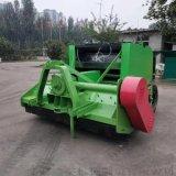 稻草牧草秸稈圓捆機 拖拉機牽引自走式粉碎打捆機