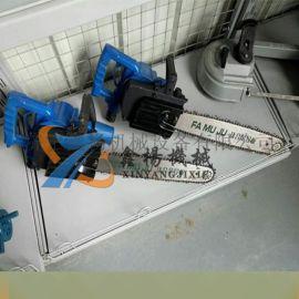煤矿用便携式切割木头锯FLJ-400气动链锯