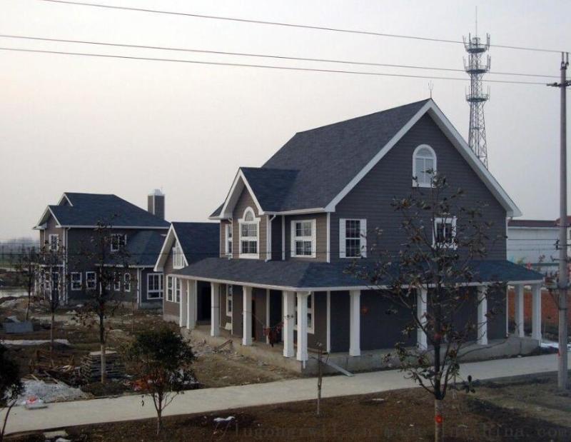 魯工潤屋輕鋼別墅,一個讓人冷豔的新型產品