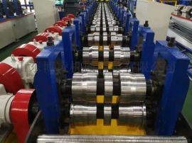 高速轻仓货架立柱冲孔成型设备 轻仓货架自动生产线