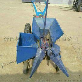 手扶车配套玉米收获机单垄小型玉米收割机