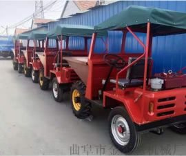 18  容量  款翻斗车 四轮驱动工程车 一吨翻