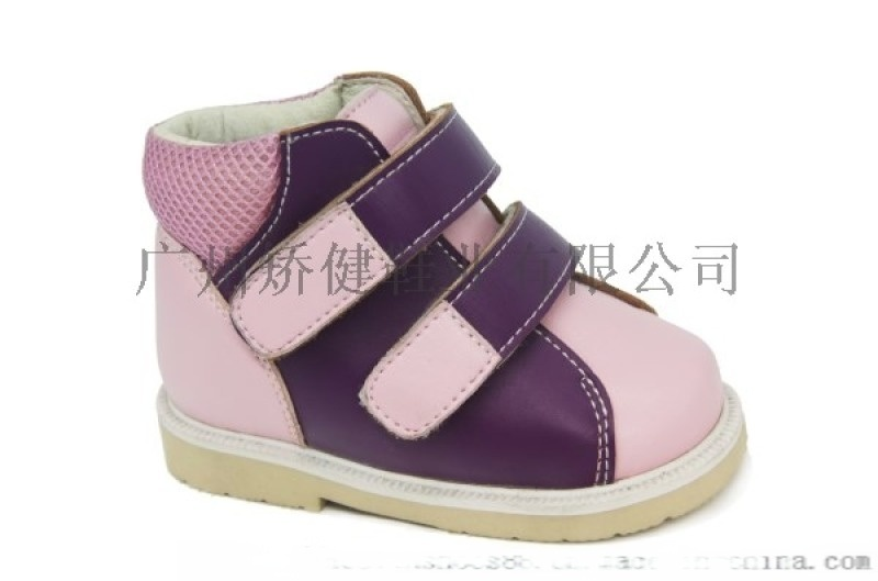 廣州外貿鞋,兒童矯形鞋,內八矯正鞋,真皮童鞋