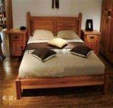 牛仔部落 现代简约实木双人床西部牛仔骑士家具