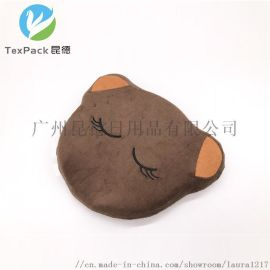小棕熊记忆棉婴儿定型枕 新生儿记忆棉枕头
