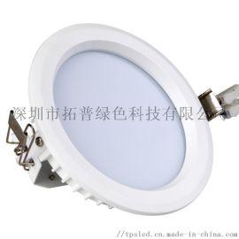 贴片LED筒灯外壳4寸开孔120mm压铸铝外壳