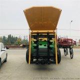 农用撒肥机 牵引式有机肥撒肥机 粪肥均匀撒粪车