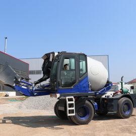 4方水泥自上料搅拌车 工程机械混凝土搅拌车