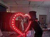 商场婚庆活动暖场爱心表白求婚道具心形互动吸引游客