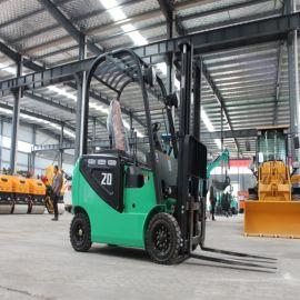 厂家直销 蓄电池四轮电动叉车 座驾式全电动堆高叉车