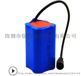 6.4V3Ah庭院灯,18650磷酸铁**电池