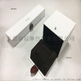 包装盒礼品抽屉手镯盒制作流程 包装盒定制