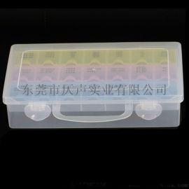 21密封一周七天药盒分装塑料旅行收纳盒