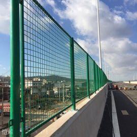 厂家供应浸塑高速公路防抛网 桥梁 铁路等地防护网