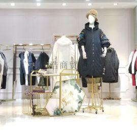 女装时尚潮牌M2新款羽绒服折扣尾货资源