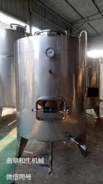 316不锈钢储存罐,20吨葡萄酒发酵罐