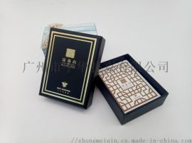 广州市宇华黑芯扑克牌印刷订做