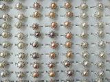 北海珍珠批发 项链串链 地摊跑江湖热卖小饰品天然珍珠现场制作
