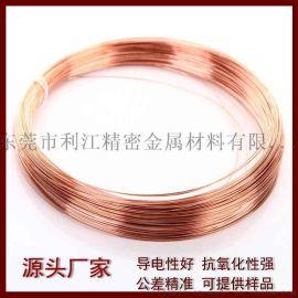 紫铜线 T2紫铜扁线 高导电铜线