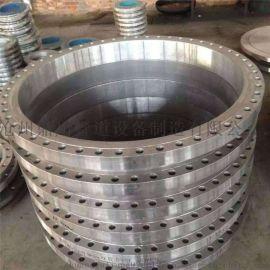 来图定制 大口径法兰 不锈钢带径对焊法兰 厂家直销