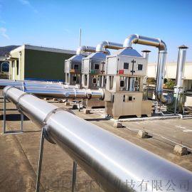 石油厂各环节产生的废气处理霍比特环保