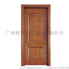原木门橡木门室内门平开门卧室门套装门隔音实木复合门