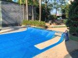 泳池游泳館保溫膜 防塵蓋布 泳池蓋膜收卷車支架