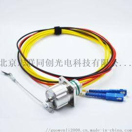 水密系列防水连接器 水密2光2电 防水光纤插头 光纤插座组件