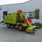 自动上料卸料柴油清粪车 全自动四驱牛场刮粪车