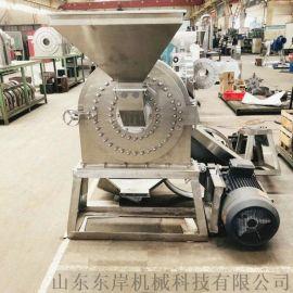 膨化大米粉碎机 山东不锈钢材质大米粉碎机