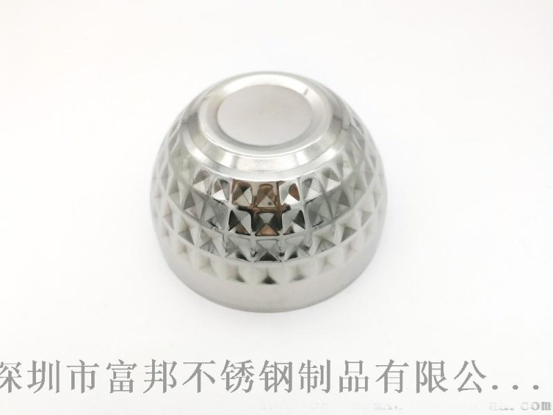 不鏽鋼鑽石碗 雙層鑽石亮光碗