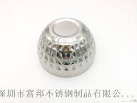 不锈钢钻石碗双层钻石亮光碗