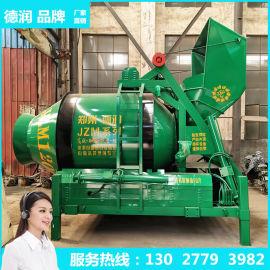 JZM600可移动摩擦滚筒液压翻斗混凝土搅拌机厂家