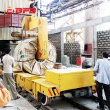 90吨多晶硅破碎生产线单根硅棒运输车150吨自制升降搬运平车