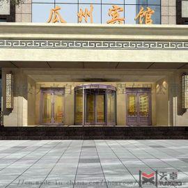 西安酒店经典旋转门厂家定制