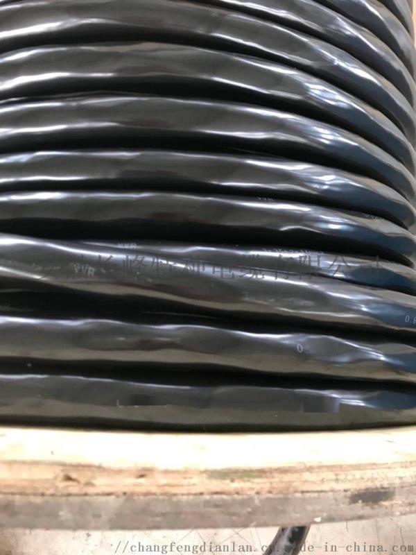 VVR聚氯乙烯绝缘及护套软芯电力电缆