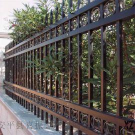 围墙铁质护栏,黑河锌钢围墙护栏,定制护栏造型