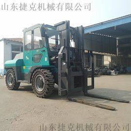 四驱越野叉车 3吨叉车 3.5吨柴油大功率越野叉车