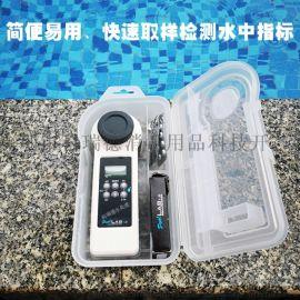 普量泳池水质检测仪 便携式化合余氯分析仪
