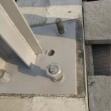 插板式金屬屏障重力砂漿 冬季施工專用重力砂漿