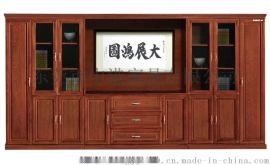 深圳实木文件柜办公档案柜办公室书柜可定制