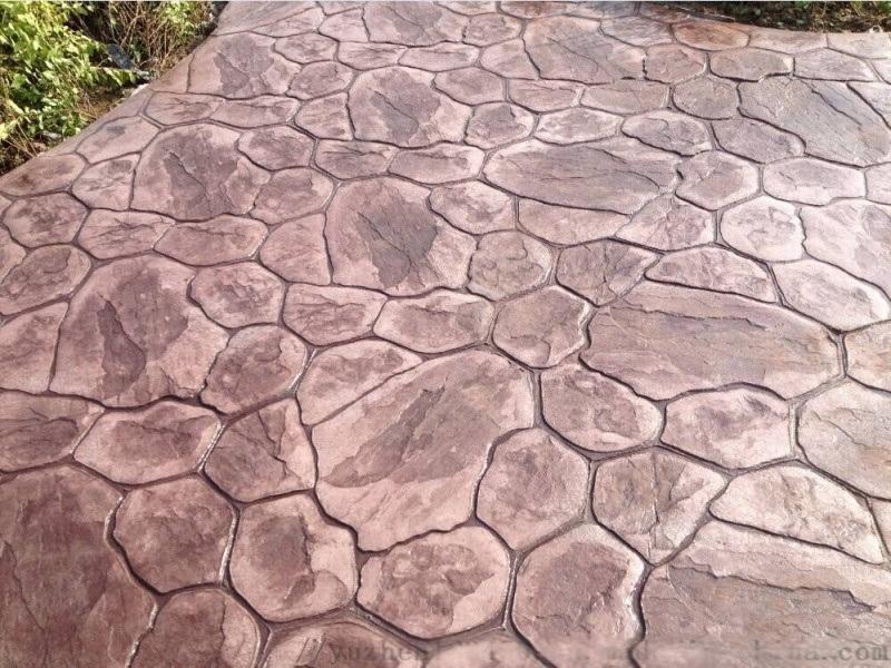 宁夏生态透水混凝土艺术压花混凝土自产自销