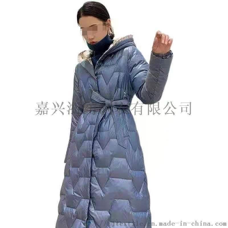 中长款羽绒服女2020冬季简约气质大方保暖外套