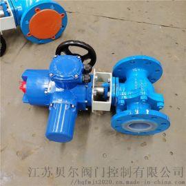 电动衬 球阀Q941F4-16C-DN80