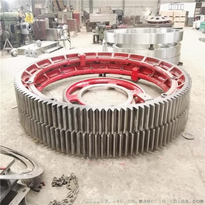 136齿24模数重型2400干燥机大齿圈