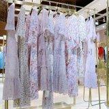 品牌折扣女装波西米亚法式浪漫连衣裙工厂  货源