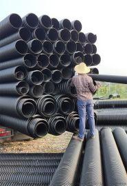 湖南永州中财钢带管中财增强螺旋管PE塑料管